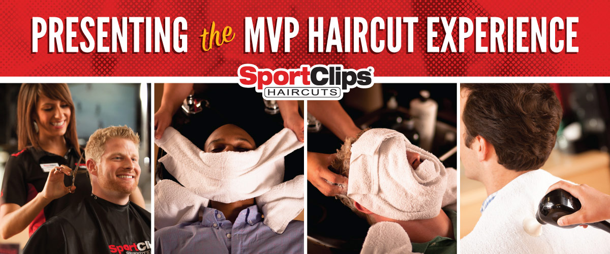 The Sport Clips Haircuts of Louisville - Middletown MVP Haircut Experience